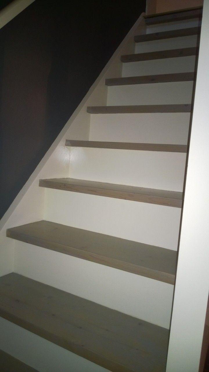 Renoveren trap plus kast onder trap maken