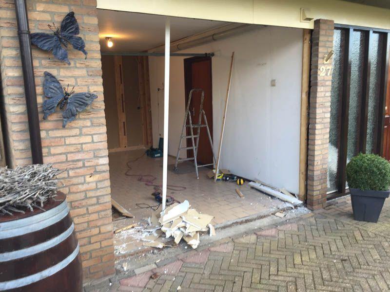 Verbouw garage tot slaapkamer Fam Koning - Onderhouds- en ...